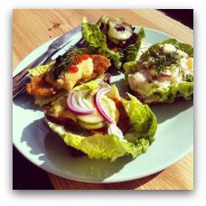 Mikuna er Aarhus' første 100 % veganske café. (Frederiks Alle 96. 8000 Aarhus C.
