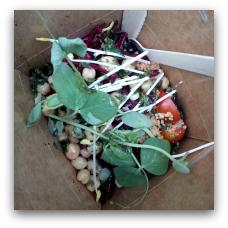Sprouts er en lille økologis veganer-venlig salatbiks (Ryesgade 28. b. 8000 Aarhus C.)