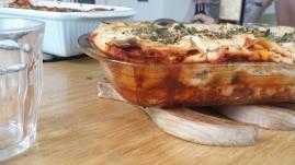 Vegansk lasagne med blomkåls money ♡