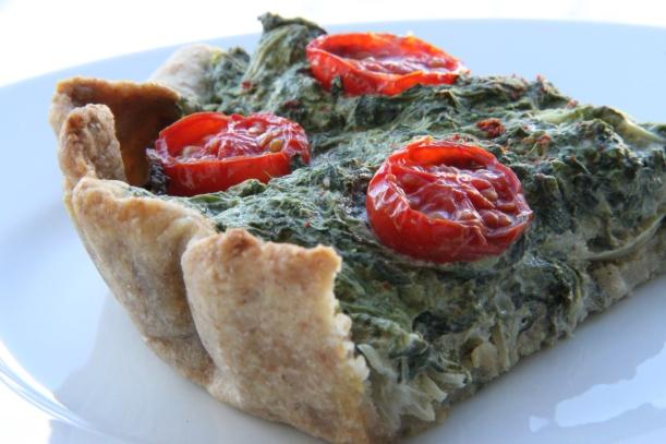 spinattærte 2)
