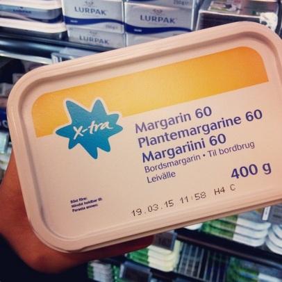 X-tra plantemargarine - forside ♡