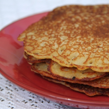 Små sprøde og glutenfri pandekager ♡