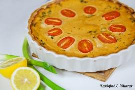 Spinat/grønkålstærte ♡