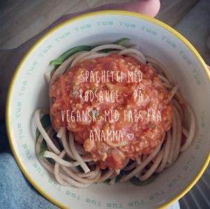 Spaghetti med kødsauce - med fars fra Anamma ♡