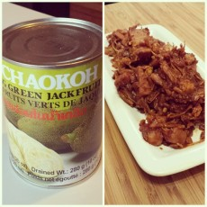 Pulled jackfruit ♡