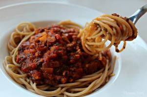 Spaghetti veganese ♡